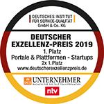 wirsindhandwerk.de gewinnt Deutschen Exzellenz-Preis 2019